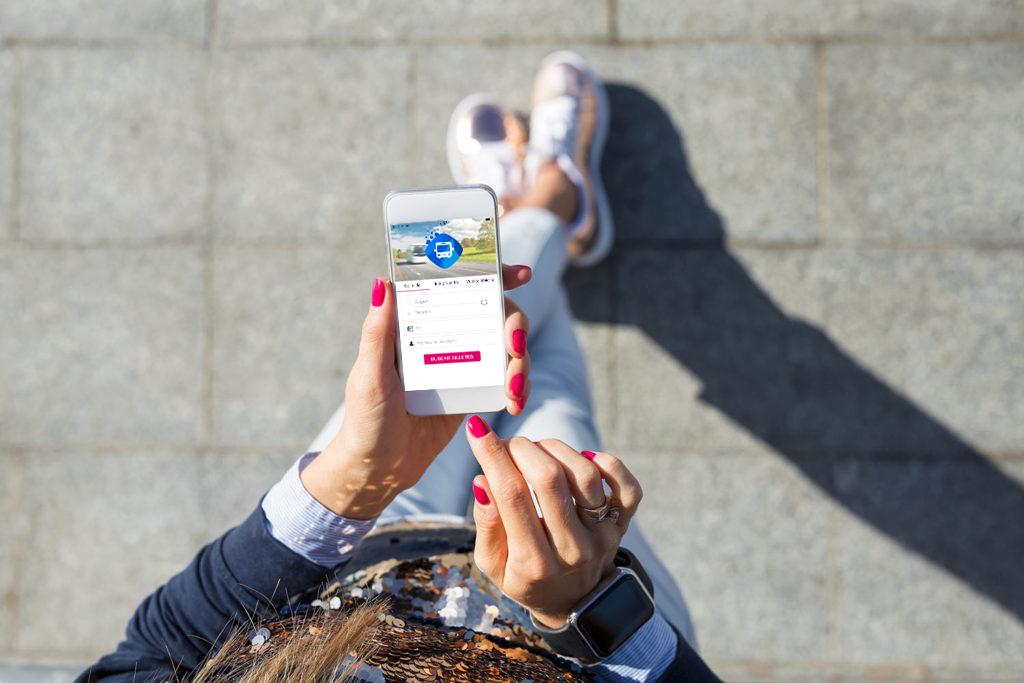Comprar billetes de autobús desde la aplicación móvil de iberocoach