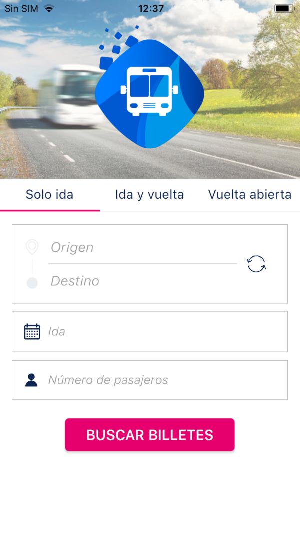Comprar billetes de autobús desde app iberocoach